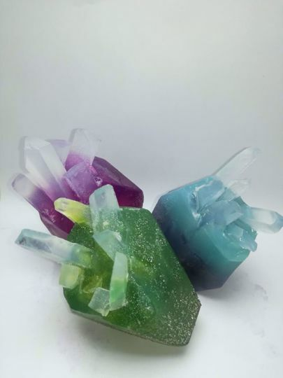 Picture of Chakra Crystal Soaps