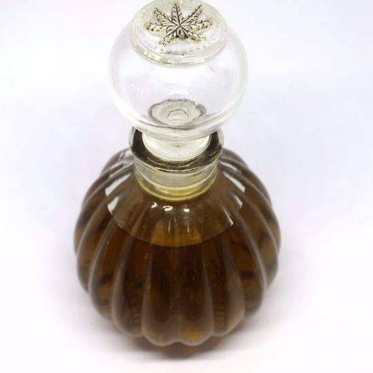 Picture of Organic Cannabis Infused Massage Oil