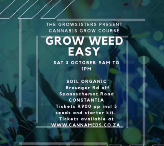Picture of GROWSISTERS CANNABIS GROW COURSE