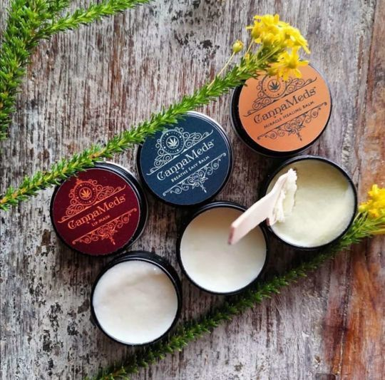 Picture of CannaMeds Trio of Mini Balms